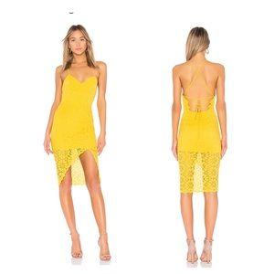 NWT Lovers + Friends Skylight Dress in Sunflower